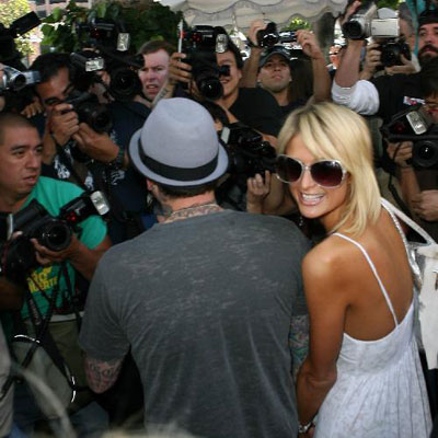 Paris Hilton Leave The Ivy