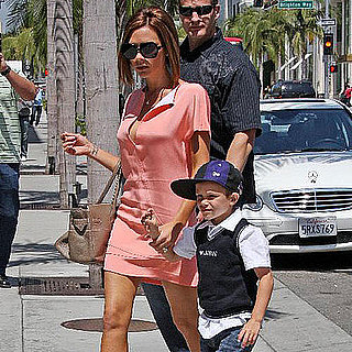Victoria Beckham Shopping in LA
