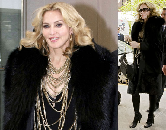 Madonna Brings Out Her Inner Party Girl