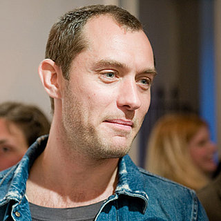 Jude Law Goes to An Art Gallery