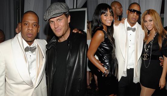 Jay Z Beyonce Tom Brady Party At 40 40 Club Popsugar