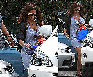 Halle Berry Leaves Spa Refreshed