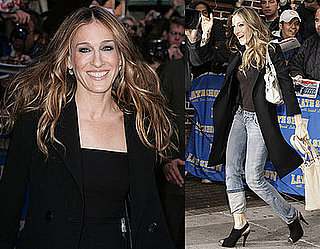 Sarah Jessica Parker on The Late Show with David Letterman