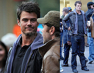 Josh Duhamel on the Set of When in Rome
