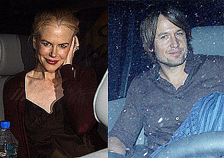 Nicole and Keith Take Her Baby Bump to Bryan Adams Concert