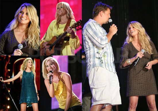 Photos of Jessica Simpson Performing at CMA Music Festival in Nashville