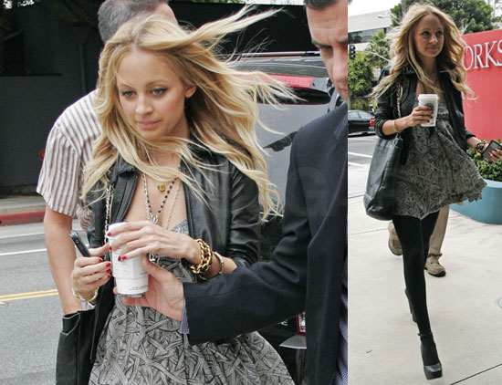 Photos of Nicole Richie in LA
