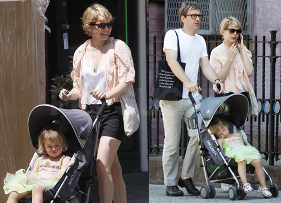 Michelle Williams and Matilda Ledger Visit the Brooklyn Academy of Music