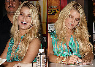 Photos of Jessica Simpson Signing Autographs at CMA Music Festival