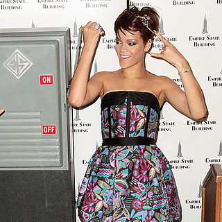 Rihanna And Cartier Light The Empire State Building