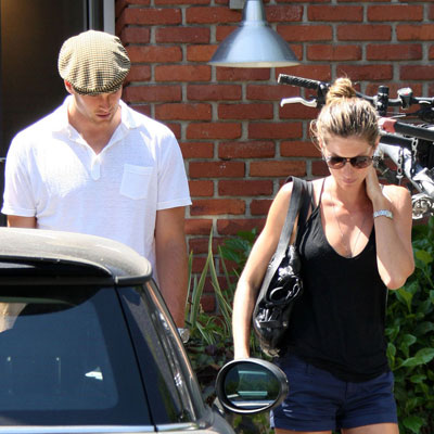 Gisele Bunchen and Tom Brady Shop in Santa Monica