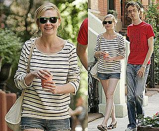 Photos of Kirsten Dunst Smiling in NYC