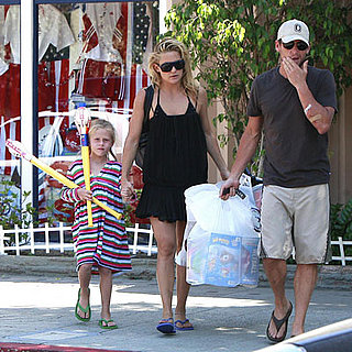 Kate Hudson and Lance Armstrong Out in LA