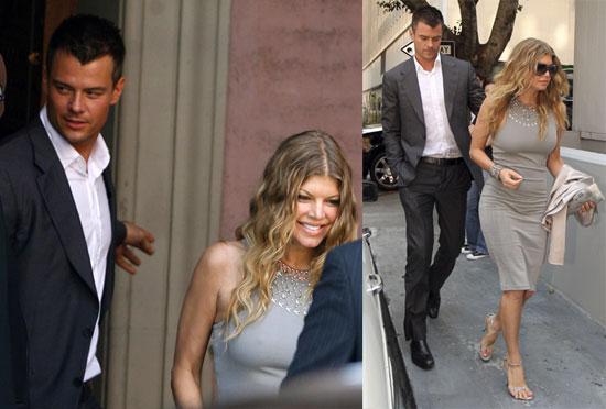 Photos of Fergie, Josh Duhamel, will.i.am, Apl de ap at Taboo's Wedding