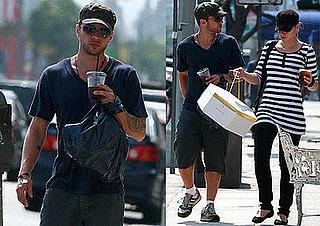Photos of Ryan Phillippe and Abbie Cornish in LA