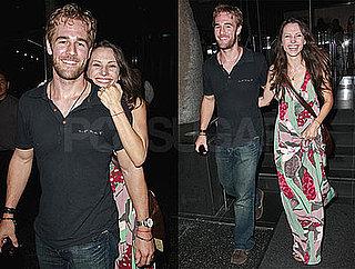 Photos of James Van Der Beek and Wife Heather McComb at Katsuya