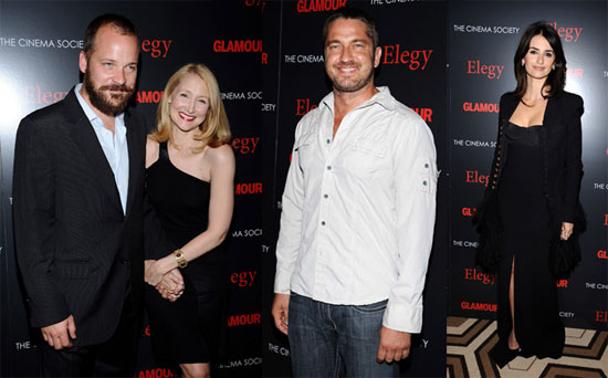 Red Carpet Photos From Elegy Premiere in NYC Including Penelope Cruz, Pete Sarsgaard, Gerard Butler, Patricia Clarkson, and More