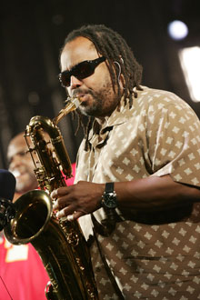 Photo of LeRoi Moore, Saxophonist for the Dave Matthews Band, Who Recently Died