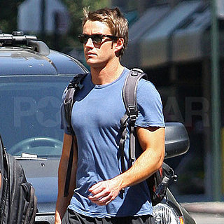 Robert Buckley Out in NYC