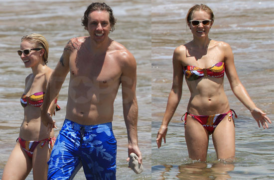 Photos of Kristen Bell in a Bikini and Shirtless Dax Shepard On Vacation in Hawaii