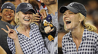 Photos of Kirsten Dunst — Who May or May Not Join Next Spider-Man Films — at a Yankees Game