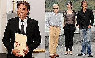 Photos of Javier Bardem at the 56th San Sebastian Film Festival
