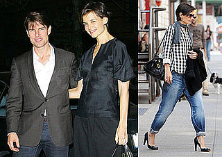 Photos of Katie Holmes and Tom Cruise After Katie's All My Sons Broadway Debut