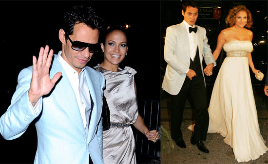Photos of Jennifer Lopez and Marc Anthony at His Birthday Party at the Bowery Hotel in New York City
