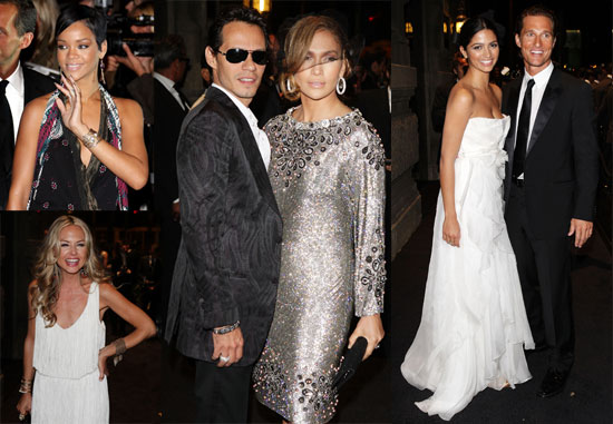Photos From Dolce & Gabbana's Golden Age Party With Jennifer Lopez, Matthew McConaughey, Rihanna at Milan Fashion Week