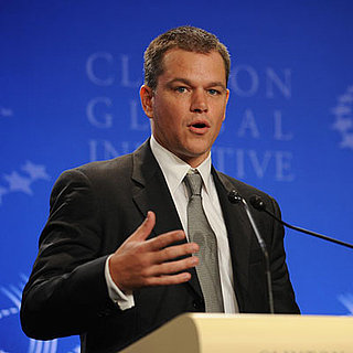 Matt Damon at the Clinton Global Initiative