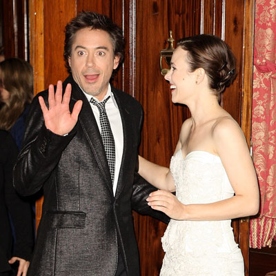 Rachel McAdams and Robert Downey Jr Promote Sherlock Holmes