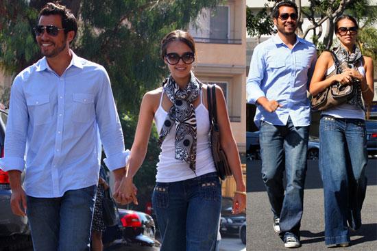 Photos of Jessica Alba and Cash Warren in LA