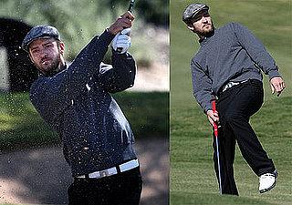 Photos of Justin Timberlake Playing Golf in Las Vegas