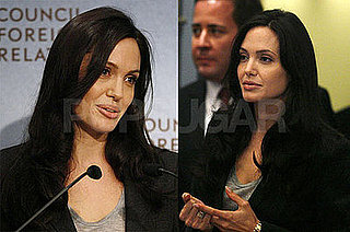 Photos of Angelina Jolie at the Council on Foreign Relations in NYC