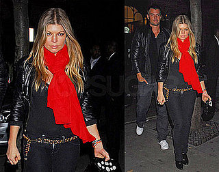 Photos of Josh Duhamel and Fergie in London