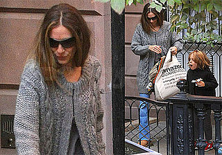 Photos of Sarah Jessica Parker and James Wilkie Broderick on the Way to School