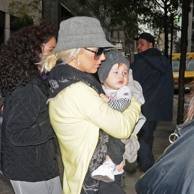 Christina Aguilera and Max Bratman Out in NYC