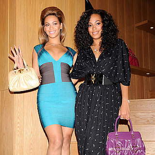 Beyonce Knowles and Solange Knowles Appear in Tokyo