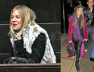 Sienna Miller — Who Might Be Breaking Up With Balthazar Getty — Celebrating Halloween in London