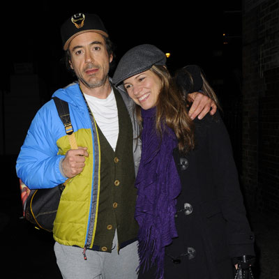 Robert Downey Jr and Susan Downey Go to the Punchbowl Pub