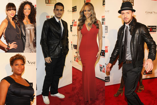 Photos of Keep A Child Alive Ball In NYC Including John Mayer, Alicia Keys, Jessica Alba, Justin Timberlake and More