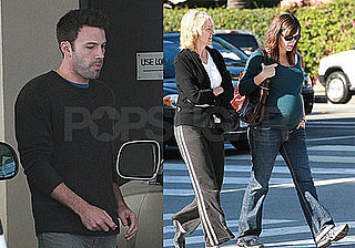 Jennifer Spends Some Pre-Baby QT With Mom Affleck