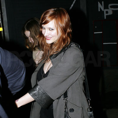 Ashley Simpson Out in LA for the First Time Since Giving Birth