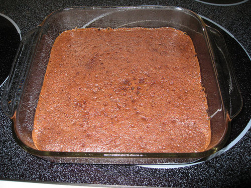 Ten-Minute Microwave Brownies