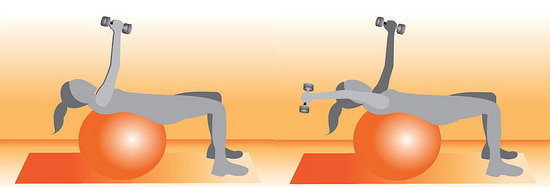 Get on the Ball: No Crunch Abs