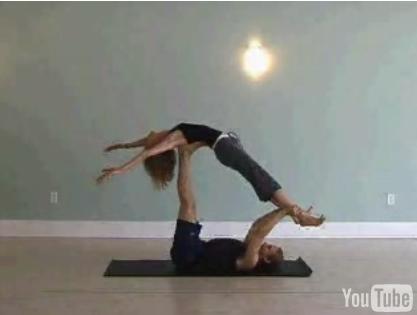 Partner Yoga: Flying Whale