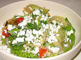 Barley and Greens Salad With Citrus Parmesan Vinaigrette