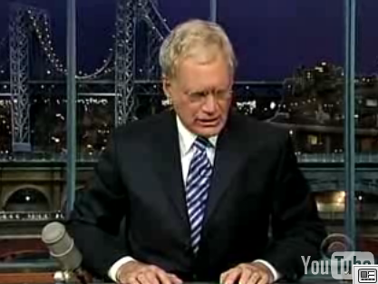 Letterman's Top 10 Signs Your Wife Is Having an Affair With the Incredible Hulk