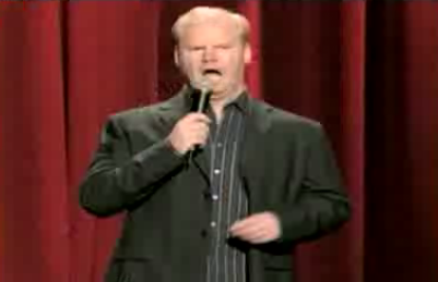 Jim Gaffigan on The Food Network