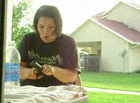 Man Pranks His Wife With Firecrackers and a Gun